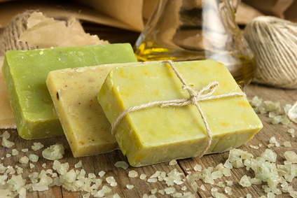 organic and natural homemade soaps
