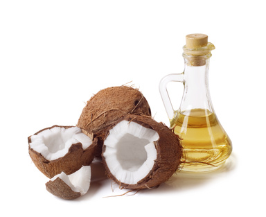 coconuts and coconut oil for homemade or handmade soaps