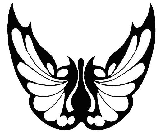 tattoo design of butterfly wings