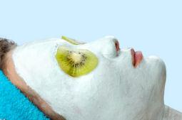 fruit facial mask for healthy skin