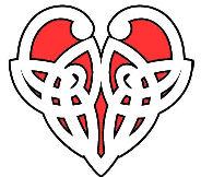 cool tattoo design of a heart